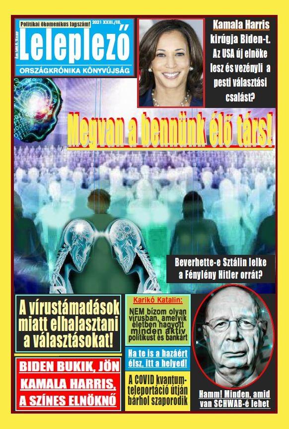 Leleplező magazin címlap